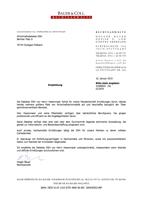 Detektei Stuttgart Detektiv Stuttgart Wirtschaftsdetektei / Privat-Detektei Stuttgart, Ludwigsburg, Fellbach, Schorndorf, Salem: Referenz Anwaltskanzlei Bauer und Coll.